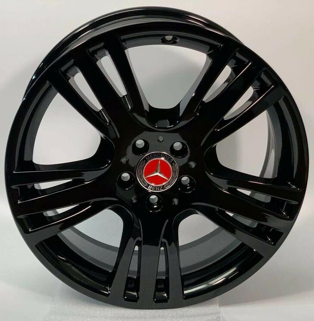 Mercedes GLK250 GLK350 GLK Black 19″ Factory OEM Wheels Rims 85276 2044011104