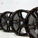 18″ BMW 335i 340i 435i 440i 400M BLACK RIMS