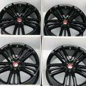 """20"""" Jaguar XF XK SELENA 20 RIMS Factory OEM Original Set Black 20 Inch"""