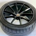 19″ 20″ McLaren 720s FACTORY OEM BLACK WHEELS AND TIRES