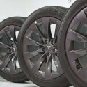 20″ TESLA MODEL WHEELS AND TIRES = FRESH TAKE OFFS = CARBON SONIC GRAY 2019 HOT !!!