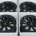 20″ TESLA MODEL S P100 P100D P90  SATIN BLACK RIMS