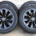 19″ Tesla Model S Slipstream Factory OEM Black Wheels Rims Tires Goodyear