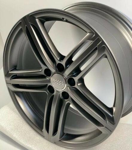 "19"" Audi S4 A4 A6 S6 gunmetal Gray Factory OEM Peeler Wheels Rims 19×8.5 58840"
