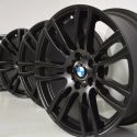 19″ BMW 335i 340i 435i 440i M Sport Factory OEM 403M Black Wheels Rims