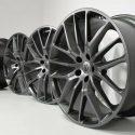 "21"" Maserati Ghibli / Quattroporte Titano Factory OEM wheels rims Titanium Gray"