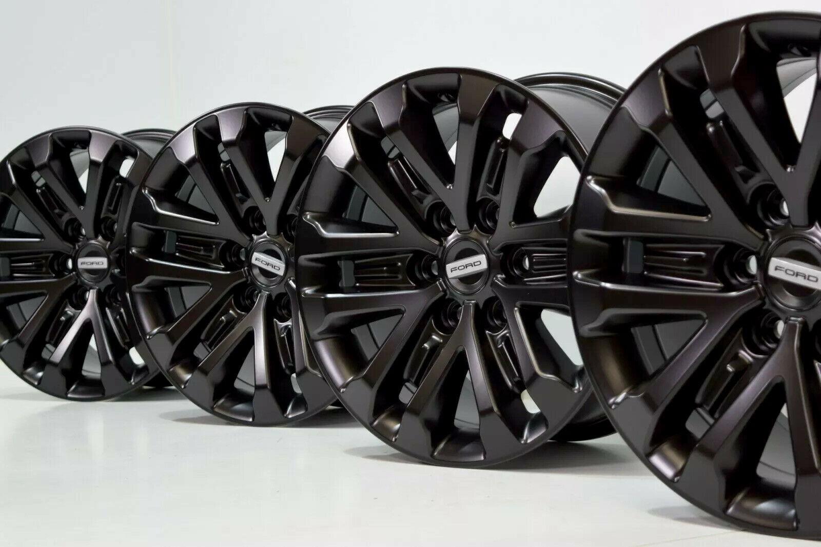 Black 2019 Ford Raptor F150 Oem Factory 17 Wheels Rims 6x135 Kl3v 1007 Aa Factory Wheel Republic