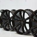 "2018 Audi S5 A5 S4 A4 Factory OEM Black Optic Sportback 19"" Wheels"