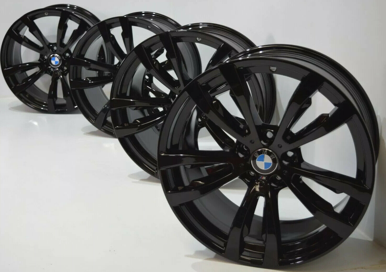 20 Bmw X5 X6 F15 E70 X71 X72 F16 Original Factory Oem Black Rims 469m Wheels Factory Wheel Republic