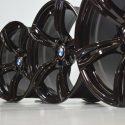 20″ BMW M6 F12 F13 WHEELS M343 FACTORY OEM BLACK GENUINE WHEELS RIMS 20 INCH