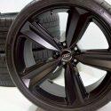"20"" Audi RS5 S5 A5 Factory OEM Wheels Rims tires black 2019 Genuine"