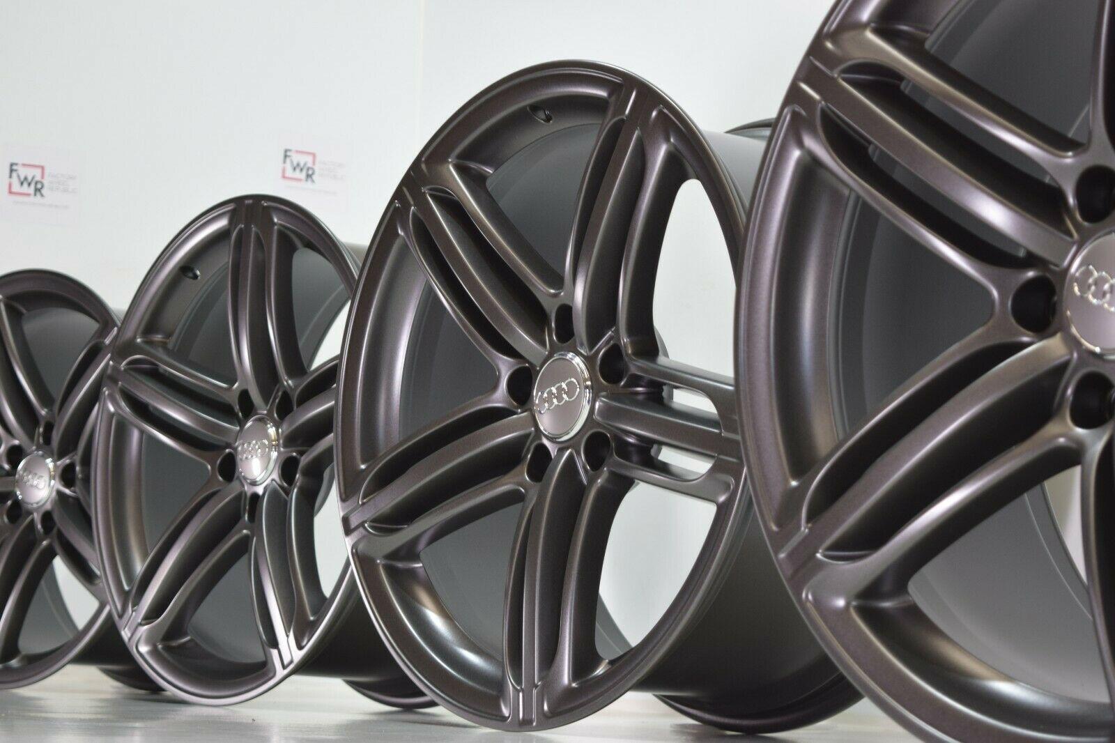 21 Audi Q7 2011 2012 2013 2014 2015 Titanium Gray Factory Oem Wheels Rims 58886 Factory Wheel Republic